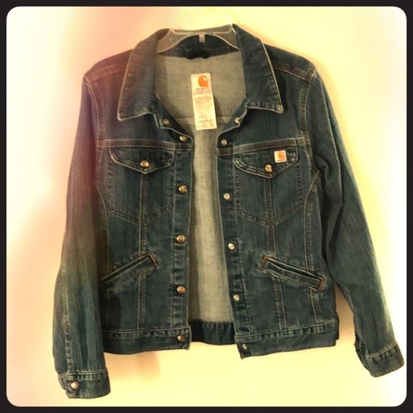 Carhartt Jackets & Blazers - Carhartt Jean Jacket